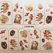 """Наклейка """"BM"""" BOP-003 фото"""