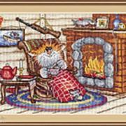 Набор для вышивания Уютный вечер фото