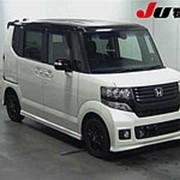 Микровэн HONDA N BOX кузов JF1 класса минивэн модификация Custom G A гв 2014 пробег 66 т.км Жемчужно-Черный фото