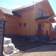 Дом из клеенного бруса фото