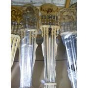 Наборы шампуров на деревянной подставке фото