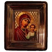 Икона богоматерь в пластмассе фото
