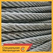 Канат стальной 27,5 мм ЛК-О 6х7(1+6)+1х7(1+6) ГОСТ 3066 фото