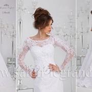 Кружевное свадебное платье Darla с рукавом фото