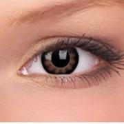 Большие глаза. Карие линзы. фото