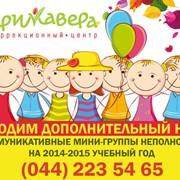 Коммуникативная группа неполного дня (мини-детский сад) фото