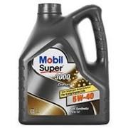 MOBIL SUPER 3000 X1 DIESEL 5w40 синтетика (4л) фото