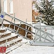 Наклонная подъемная платформа для инвалидов в Якутске фото