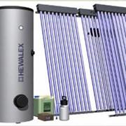 Солнечные коллекторы (гелиосистемы) фото