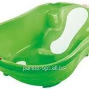 Ванна дитяча Onda Evolution з анатомічною гіркою та термодатчиком, колір салатовий, артикул 38084440 фото