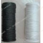 Нить 187 Категория (1*3 плетение) бобина (400гр) обувная капроновая (белая) №703210 фото