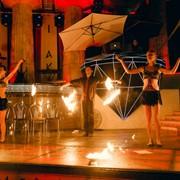 Яркое огненное шоу на 10 минут | 4 артиста | Фаер шоу Одесса фото