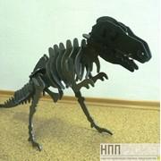 Металлический динозавр фото