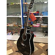 Акустическая гитара Martinez FAW-802WN / BK фото