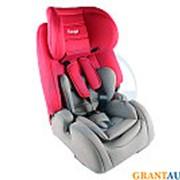 Кресло детское автомобильное PAN-ASIA YB708A красный isofix фото
