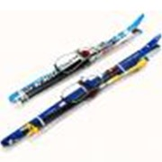 Комплект лыжный STC c кабельным креплением (100-140 см.) фото