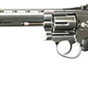 """Револьвер пневматический ASG Dan Wesson 6"""" (серебристый) арт. 16559 фото"""