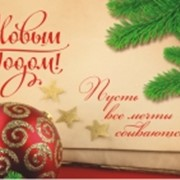 Открытка С Новым Годом, 7-20-52 фото