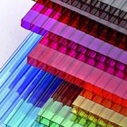 Сотовый поликарбонат от 3 до 10мм , Цветной и прозрачный. Размер 2,1х6м. Арт № 12-01-1 фото