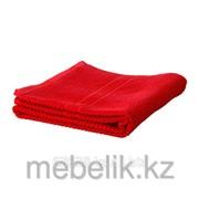 Банное полотенце ярко-красный ФРЭЙЕН фото