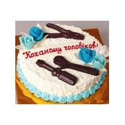 Торт святковий № 363 фото