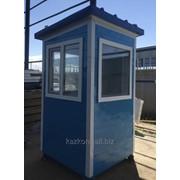 Пост охраны, охранная будка из мет сайдинга КПП 1,5*1,5*2,6 м фото