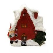 Домик керамический рождественский с подсветкой LED TG21929 фото