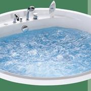 Ванны гидромассажные, Ванна круглая Зеус D-164 c гидромассажем фото