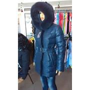 Пуховое пальто фото
