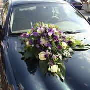 Оформление свадебного автомобиля фото