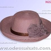 Летние шляпы модель N228 фото