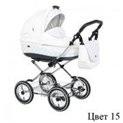 Детская классическая коляска 2 в 1 Roan Emma 15 - Роан Эмма 15 (1101-0119) фото