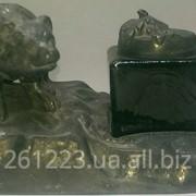 Чернильница с медвежонком фото