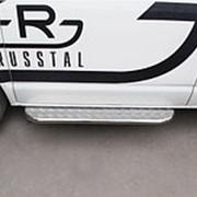 Пороги VW Transporter kasten 2003-2009 (труба с листом 42 мм) фото