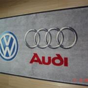 Грязепоглощающие ковровые покрытия с логотипом фото