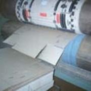 Линия изготовления ящиков ротационная фото