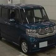Микровэн HONDA N BOX CUSTOM кузов JF2 класса минивэн модификация G L Package гв 2012 4WD пробег 50 т.км синий фото