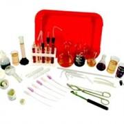 Набор химической посуды и принадлежностей для лабораторных работ по химии (НПХЛ) фото