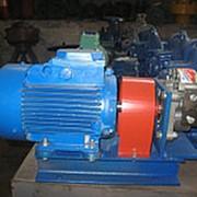 Насосный агрегат НШ32 с электродвигателем на раме фото
