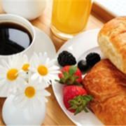 Завтрак в номер фото