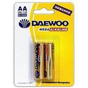 Батарейка 030344 АА LR 6 S_2 Daewoo Mega Alkaline (1.5v) (уп.__ шт.) пальчиковая фото