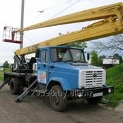 Услуги автовышкой ВС-22, высота подъема 22 метра фото