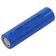 Морозостойкий аккумулятор 18650 Lithium 2200 mAh 3.7 V фото