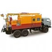 Передвижная ремонтная мастерская ПРМ (шасси КАМАЗ-43118 6х6) фото