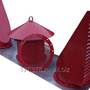Зонт вентиляционный алюминиевый (патрубки) понтонов резервуаров ЗВА-500 фото
