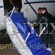 Чехол на трап самолёта. фото
