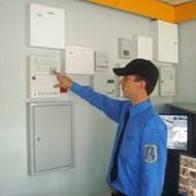 Установка систем пожарной и охранной сигнализации фото