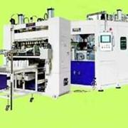 Автомат вакуум-формовочный с автоматическим вырубным прессом фото