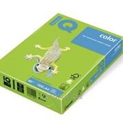 Бумага цветная iq color A4, 80г/м2, mA42 ярко-зеленый MA42-80 фото