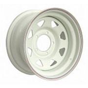ORW ORW диск стальной 5x139.7 УАЗ 8х15 ET 0, d 110 белый фото